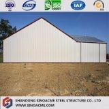 Costruzione di edifici chiara prefabbricata del blocco per grafici d'acciaio con i materiali da costruzione di qualità