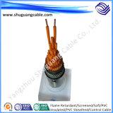 Al Screened/XLPE Insulated/PVC engainé/câble d'ordinateur/instrumentation