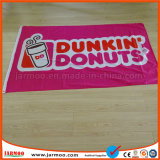Реклама полиэфирная ткань с логотипом компании