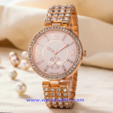 Logotipo personalizado reloj de cuarzo Relojes de Pulsera de moda para hombres Damas (WY-17004A)