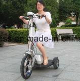 """""""trotinette"""" elétrico do balanço do auto da mobilidade Foldable de 3 rodas com Ce"""