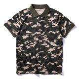 100% Coton T-shirts polo Logo personnalisé polo chemises polos de camouflage les uniformes
