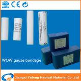 7.5cm*10mの高い吸収性の医学の救急処置のガーゼの包帯