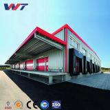 Beste Qualität bauen Gebäude-Rahmen-Stahlkonstruktion-Lager zusammen