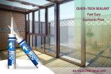 La couleur claire Window&Door calfeutrent le tube de puate d'étanchéité de silicones