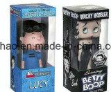 Cor feita sob encomenda caixa de dobramento de empacotamento impressa da embalagem do brinquedo com indicador