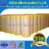Cinta adhesiva adhesiva amarilla de Mt723y de la fábrica de China