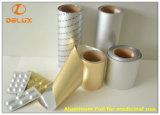 Prensa auto de alta velocidad de Ptp para el papel de aluminio usado medicinal (DLPTP-600A)