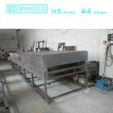 transformador eléctrico del 15m que dispensa el secador infrarrojo de cristal industrial del túnel