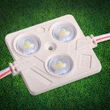 순수한 백색 6500K 3 LEDs 5050/2835/5730 아BS 주입 SMD LED 모듈