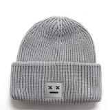 Tampa frouxamente personalizado Hat Longo tricotado Beanie Acrílico Hat chapéu de Inverno
