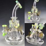 Tubo de agua de cristal de gama alta del fabricante de Bontek que fuma