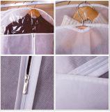 Suíte dobrável de nylon viagens sacos de roupa para fatos e vestidos