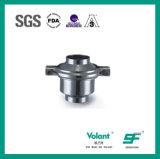 Válvula de verificação 316L sanitária do aço inoxidável 304