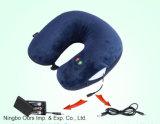 6 het regelbare Hoofdkussen van U van de Massage van de Levering van de Macht van /USB/uit van de Macht van de Batterij Multifunctionele Elektrische/het Cervicale Hoofdkussen van de Massage