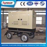 18kVA 4 Dieselmotor Yangdong van de Reeks van de Generator van de Aanhangwagen van Wielen de Aangedreven 490d