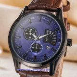 Orologio di modo della vigilanza del quarzo degli uomini su ordinazione di marchio per l'uomo (WY-17009C)