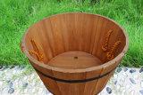 Barilotto di legno del fiore del giardino dei POT di fiore della corda dell'annata