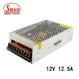 Bloc d'alimentation industriel de commutation de Smun S-150-12 150W 12VDC 12.5A