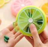 Frucht-Form-runder Pille-Halter-Kasten - Pillbox-oder Pille-Kasten