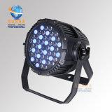 Rasha 중국 공급자 54*3W RGBW 풀 컬러 DMX는 동위 LED 옥외 빛을 방수 처리한다
