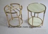 Tavolino da salotto semplice di Xz di qualità della mobilia della Tabella Three-Cornered in tensione della barra