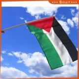 Bandierine d'ondeggiamento della mano nazionale del Palestine per gli eventi di sport
