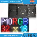 P10 RGB LED de cores no interior do módulo do visor