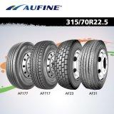Полностью покрышка стального высокого качества радиальная для тележки (315/80r22.5 и 385/65r22.5)