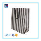 Papierhandtaschen für verpackengeschenk/elektronisch/Schmucksachen/Kleidung/Zigarre