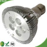 Carcasa de aleación de aluminio E26 E27 B22 PAR30 5W/10W Lámpara de LED