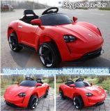 Jouet frais de bébé de véhicule électrique de la couleur rouge RC Maserati