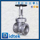 Didtek Flansch-flexibler Keil-Absperrschieber für Raffinerie