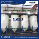 Planta de Manufcturing del petróleo de girasol de la maquinaria del refino de petróleo de palma de la pequeña escala