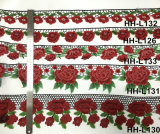 Mannigfache bunte dekorative Blumen-Spitze des heißen Verkaufs-2017