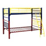 卸し売り貿易寮の金属の鋼鉄ホステルのための2つの層の二段ベッド