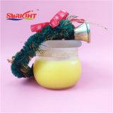 Candela di vetro del vaso con il disegno eccezionale per il regalo