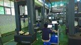 Assoalho que está a máquina de teste elástica eletromecânica 100kn para o teste elástico do metal de madeira dos compostos