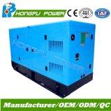 звукоизоляционный электрический тепловозный генератор 120kw с двигателем Shangchai Sdec