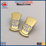 Fabricante, que suministra el servicio de metal oro Mini Insignia Insignia de solapa
