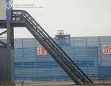 Transportband/de Grote Hoek Geneigde Machine van de Transportband van de Riem