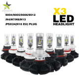 Comercio al por mayor 12V 24V LED Auto Faro, 9005 9006 H7 H13 H11 H4 resistente al agua super brillante LED coche H4 los faros de xenón