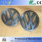 Emblema del tronco de la parrilla del coche de la fibra del carbón para el golf Mk7