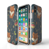 Caisse faite sur commande molle de téléphone de l'impression IMD de TPU pour l'iPhone X