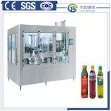 Zhangjiagang (нержавеющая сталь нас304) Автоматическая асептического 3-в-1 фруктовый сок заполнения машины