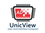 Faible coût 7'' 1024*600 Module TFT LCD avec RTP/P-Cap écran tactile