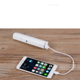 Banco de potencia con Bluetooth Selfie adhesivos cargador portátil (YM3/5000mAh/multi-funcional)