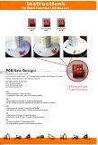 Indicatore luminoso d'avvertimento di qualità LED di Hight con il PWB impermeabile della gomma nera
