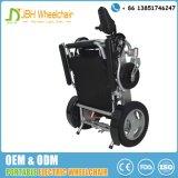 5第2折られたアルミニウム軽量の携帯用力の車椅子
