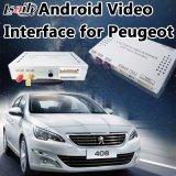 Navigations-videoschnittstelle des Android-6.0 für Peugeot 208/2008/3008/408/508 (MNR) WiFi/Mirrorlink/AV Ausgabe